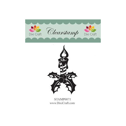 Dixi Clear Stamp candle