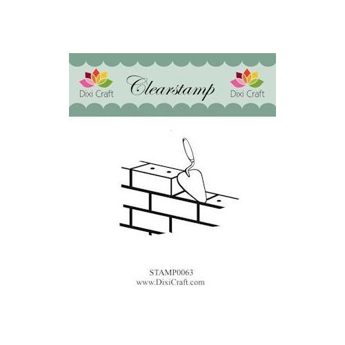 Dixi Craft - Clearstamp - Bricks
