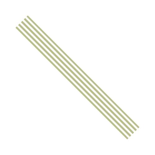 Ribbon Stripes groen