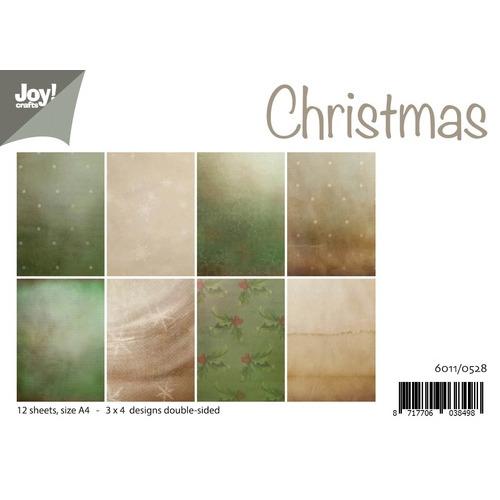 Papierset - Kerst achtergrond