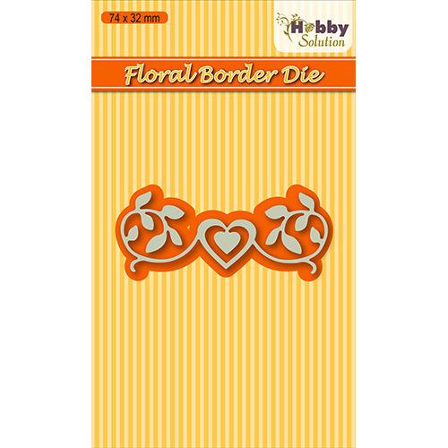 Hobby solutions Die Cut  floral 2 border