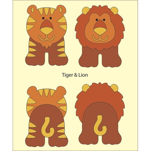 DADA babydies Tiger & Lion build-up