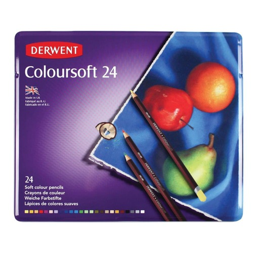 Derwent Coloursoft 24 st blik DCS0701027 (07-17)