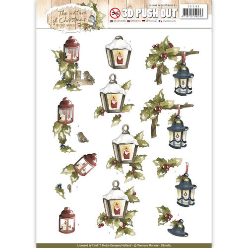 Pushout - Precious Marieke - The Nature of Christmas - Christmas Lantern