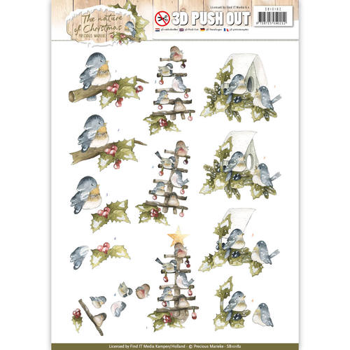Pushout - Precious Marieke - The Nature of Christmas - Christmas Birds