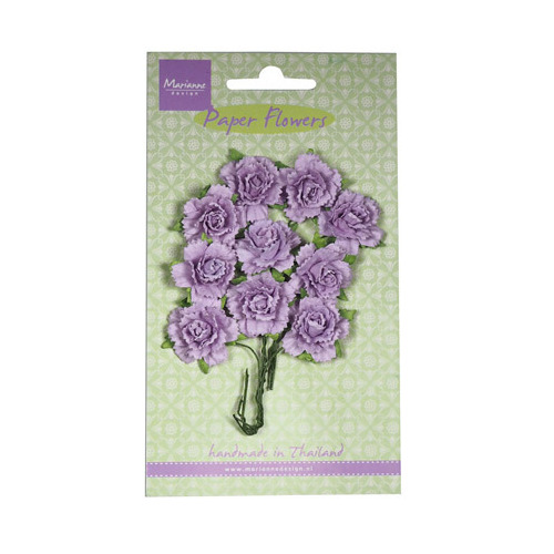 Carnations - light lavender