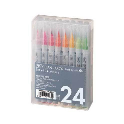 Set Real Brush 24 pcs