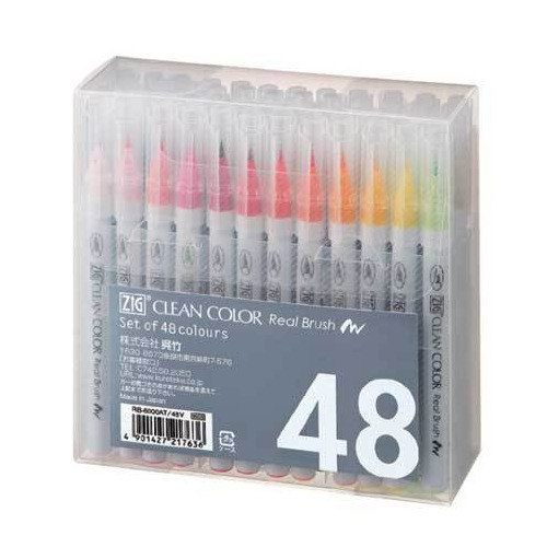 Set Real Brush 48pcs