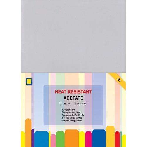 JeJe Transparante sheets hitte bestendig A4  1PK/10VL 3.1030
