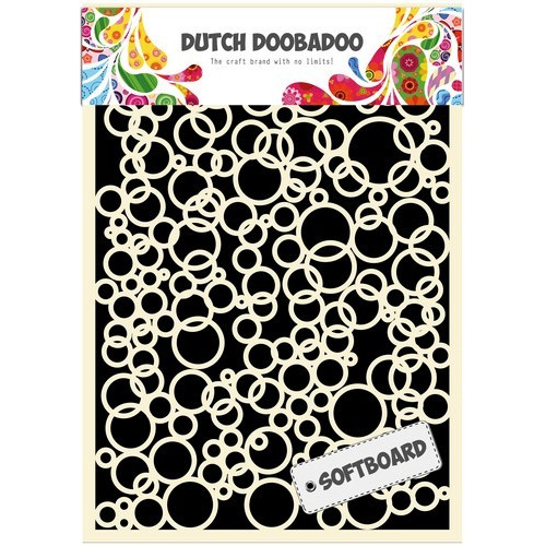Dutch Doobadoo Dutch Softboard Art Bubbles - A5 478.007.015 (07-17)