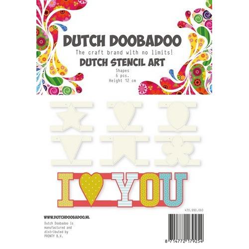 Dutch Doobadoo Dutch Stencil Art Shapes 470.990.060 (07-17)