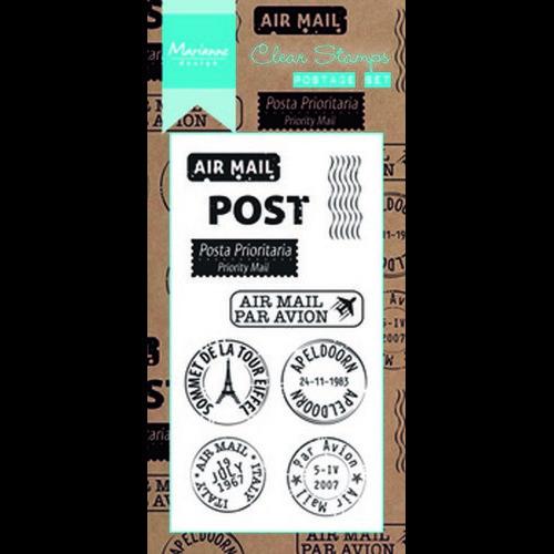 Marianne D Stempel Poststempel set (INT) CS0995 (08-17)