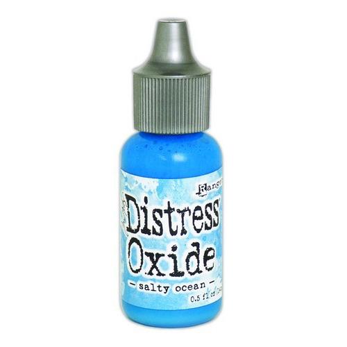 Ranger Distress Oxide Re- Inker 14 ml - salty ocean TDR57277 Tim Holtz