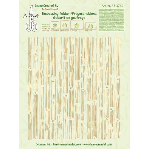 Embossing folder background wood