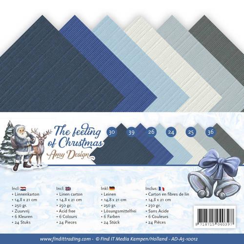Linnenpakket - A5 - Amy Design - The feeling of Christmas