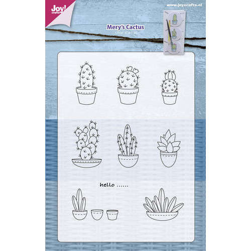 Clear stempel - Mery`s Cactussen