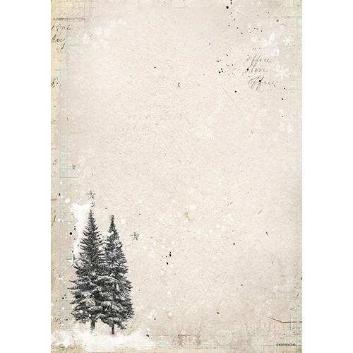 Studio Light Achtergrondpapier A4 Woodland Winter 243 BASISWW243 (07-17)