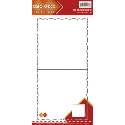 Card Deco Cutting Dies- Fantasy Scallop