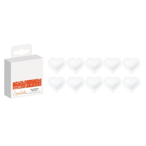 Tonic Studios - heart blister refil shaker set 1664e (08-17)