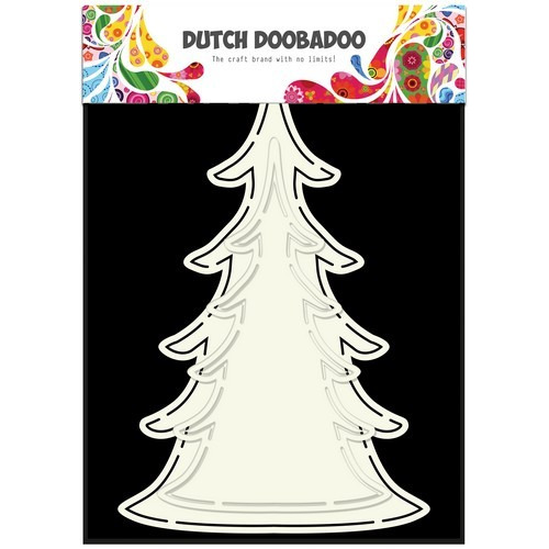 Dutch Doobadoo Dutch Card Art kerst boom (2x) 470.713.643 (08-17)