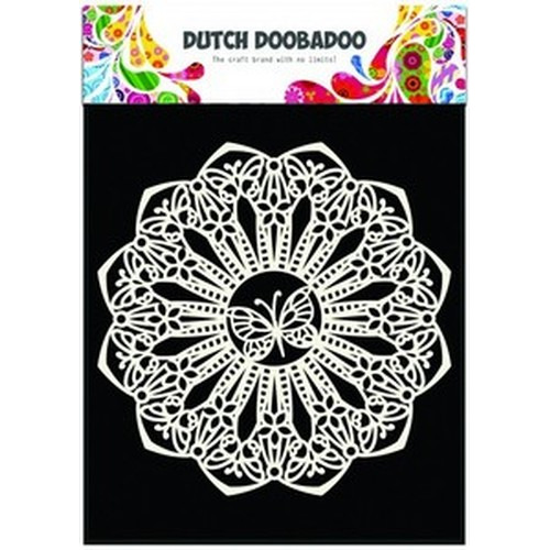 Dutch Doobadoo Dutch Mask Art stencil vlinder 145mm 470.715.110 (08-17)