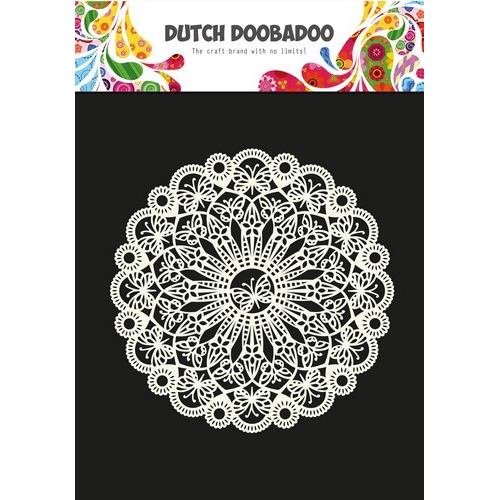 Dutch Doobadoo Dutch Mask Art stencil vlinder 200mm A4 470.715.809 (08-17)