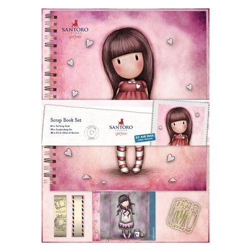 Colour Me Scrap Book Set - Santoro