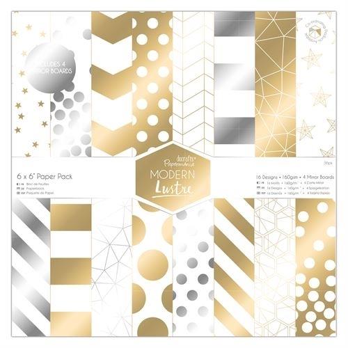 """6 x 6"""" Paper Pack (36pk) - Modern Lustre"""