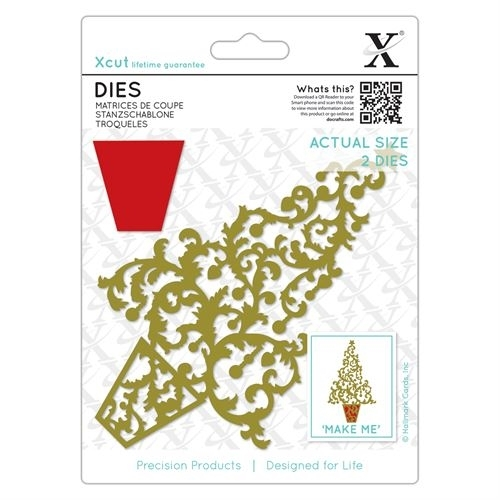 Dies - Ornate Christmas Tree