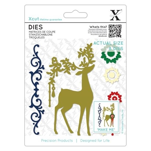 Dies - Ornate Reindeer