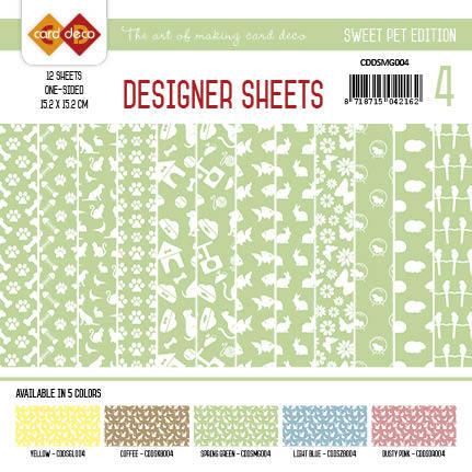Card Deco - Designer Sheets - Pets-Meigroen