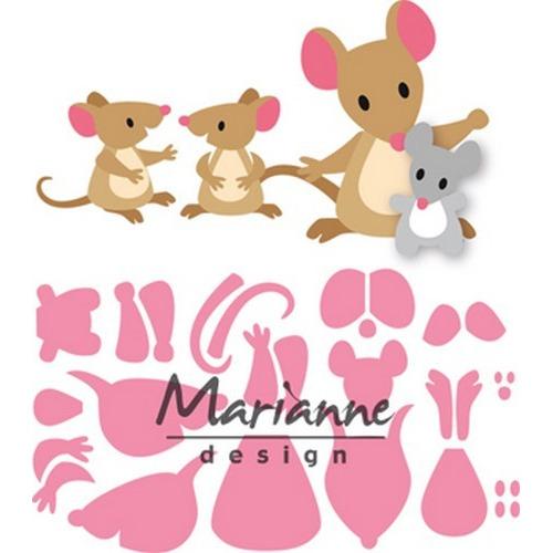 Marianne D Collectable Eline`s muizenfamilie COL1437  (09-17)