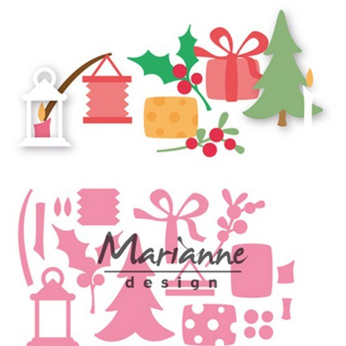 Marianne D Collectable Eline`s kerstversiering COL1439  (09-17)