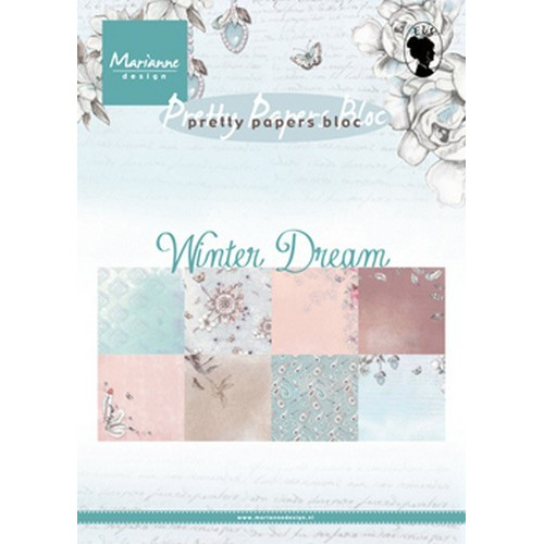 Marianne D Paper pad Winter dream PK9150 15x21 cm (09-17)