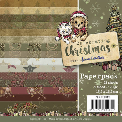 Paperpack - Yvonne Creations - Celebrating Christmas