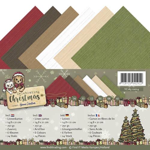 Linnenpakket - A5 - Yvonne Creations - Celebrating Christmas