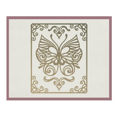 HJ150 Framed Butterfly