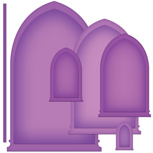 Nestabilities Arched Windows One Etched Dies Nestabilities Arched Windows One Etched Dies