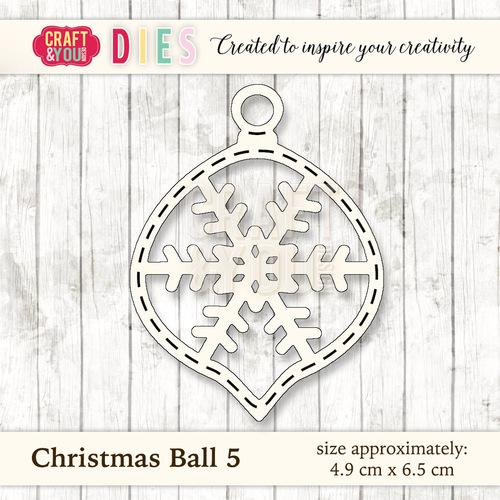 CW028 Christmas Ball 5