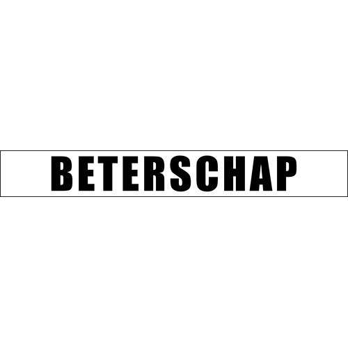 BOF010 Debossing folder Dutch texts BETERSCHAP