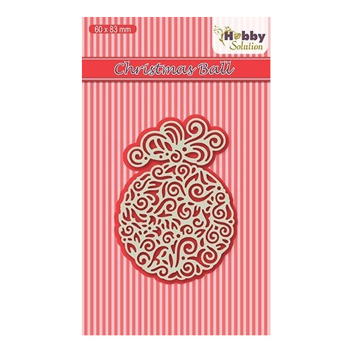 HSDJ014 Hobby Solutions Lace Dies Christmas-ball