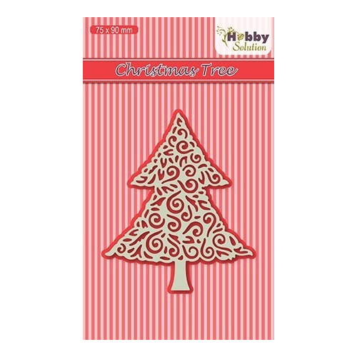 HSDJ015 Hobby Solutions Lace Dies Christmas-tree
