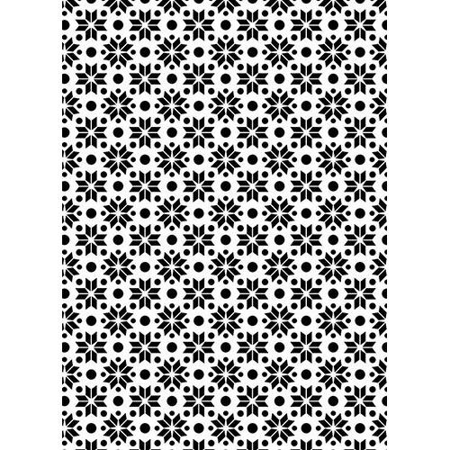 NMMS018 Plastic lasercut stencil A5 size stars