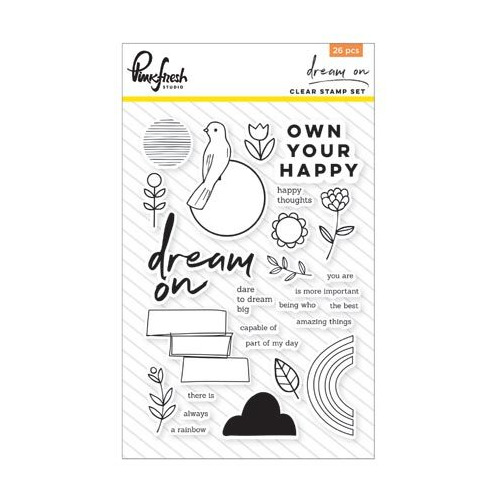 Clear Acrylic Stamp set