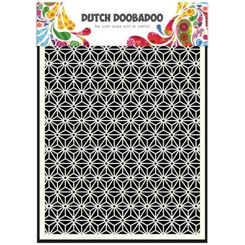 Dutch Doobadoo Dutch Mask Art stencil Ster A5 470.715.112 (09-17)