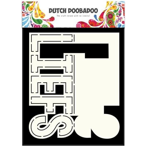Dutch Doobadoo Dutch Card Art text Liefs (NL) A5 470.713.640 (09-17)