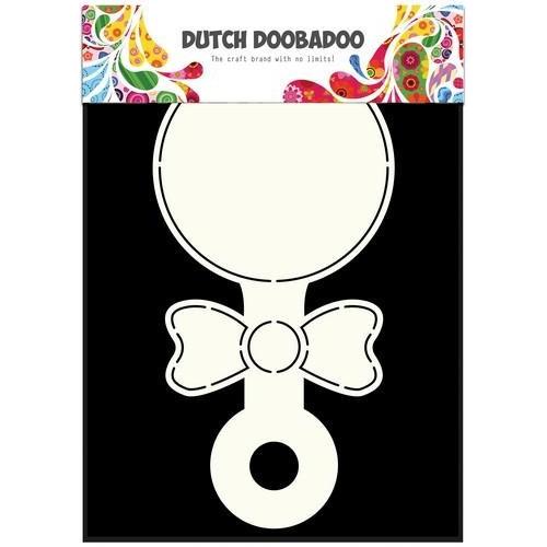 Dutch Doobadoo Dutch Card Art Stencil Rammelaar A5 470.713.320 (09-17)
