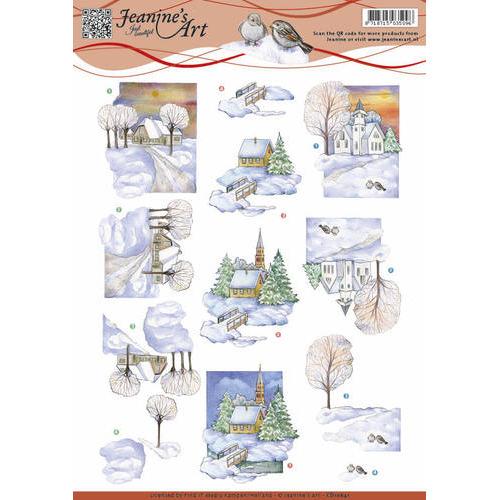 Jeanine`s Art - Winter landscape 2