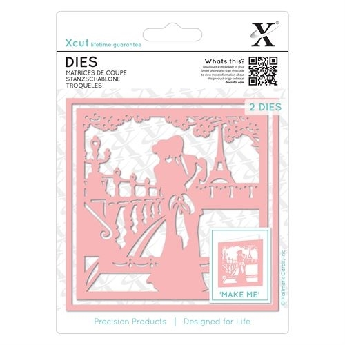 Dies (2pcs) - Paris In Love