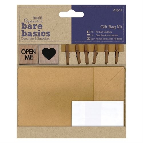 Gift Bag Kit - Bare Basics